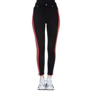 Calvin Klein Jeans Black High-Rise Skinny Jeans
